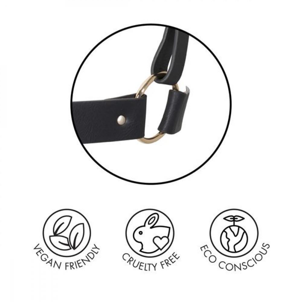 Одежда для БДСМ - Портупея Bijoux Indiscrets MAZE - X Harness Black 4
