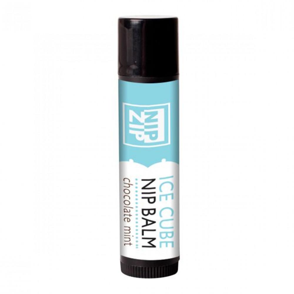 Стимулирующие средства и пролонгаторы - Охлаждающий бальзам для сосков Sensuva - Nip Zip Chocolate Mint (4 г) 1