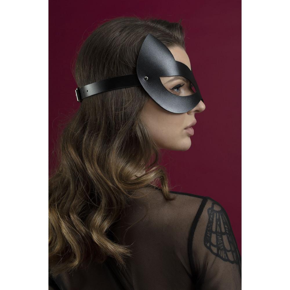 Маска для БДСМ - Маска кошки Feral Fillings - Kitten Mask черная 1