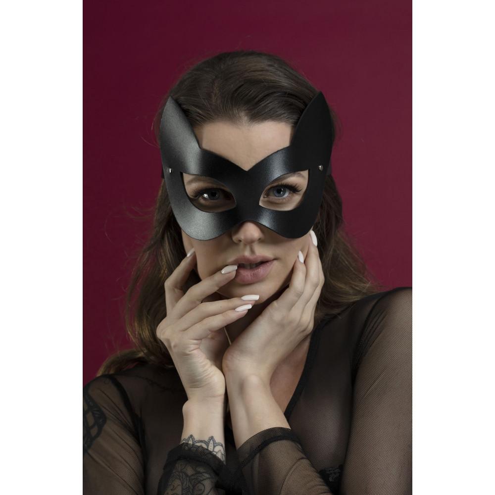 Маска для БДСМ - Маска кошки Feral Fillings - Kitten Mask черная