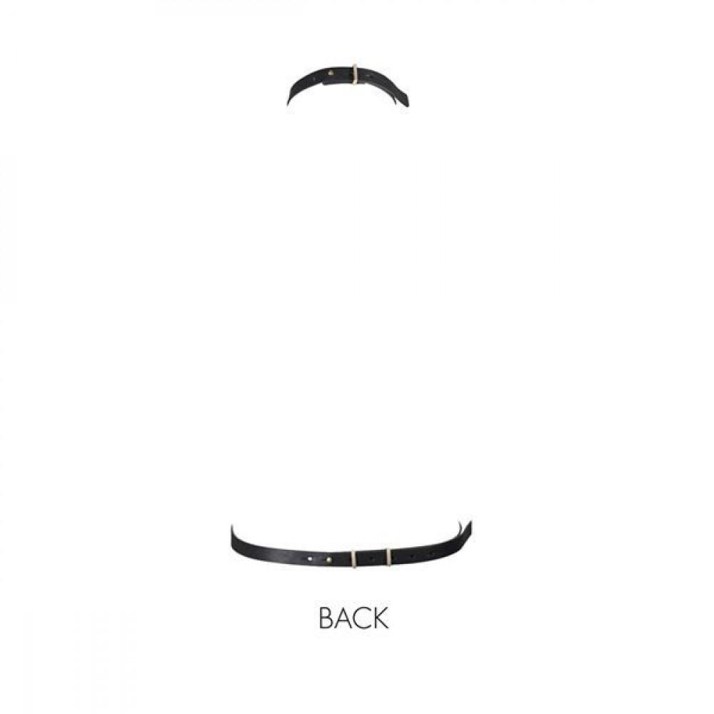 Одежда для БДСМ - Портупея Bijoux Indiscrets MAZE - I Harness Black 1