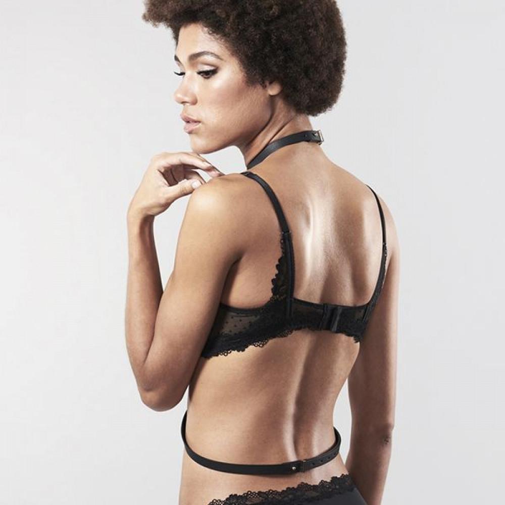 Одежда для БДСМ - Портупея Bijoux Indiscrets MAZE - I Harness Black 7