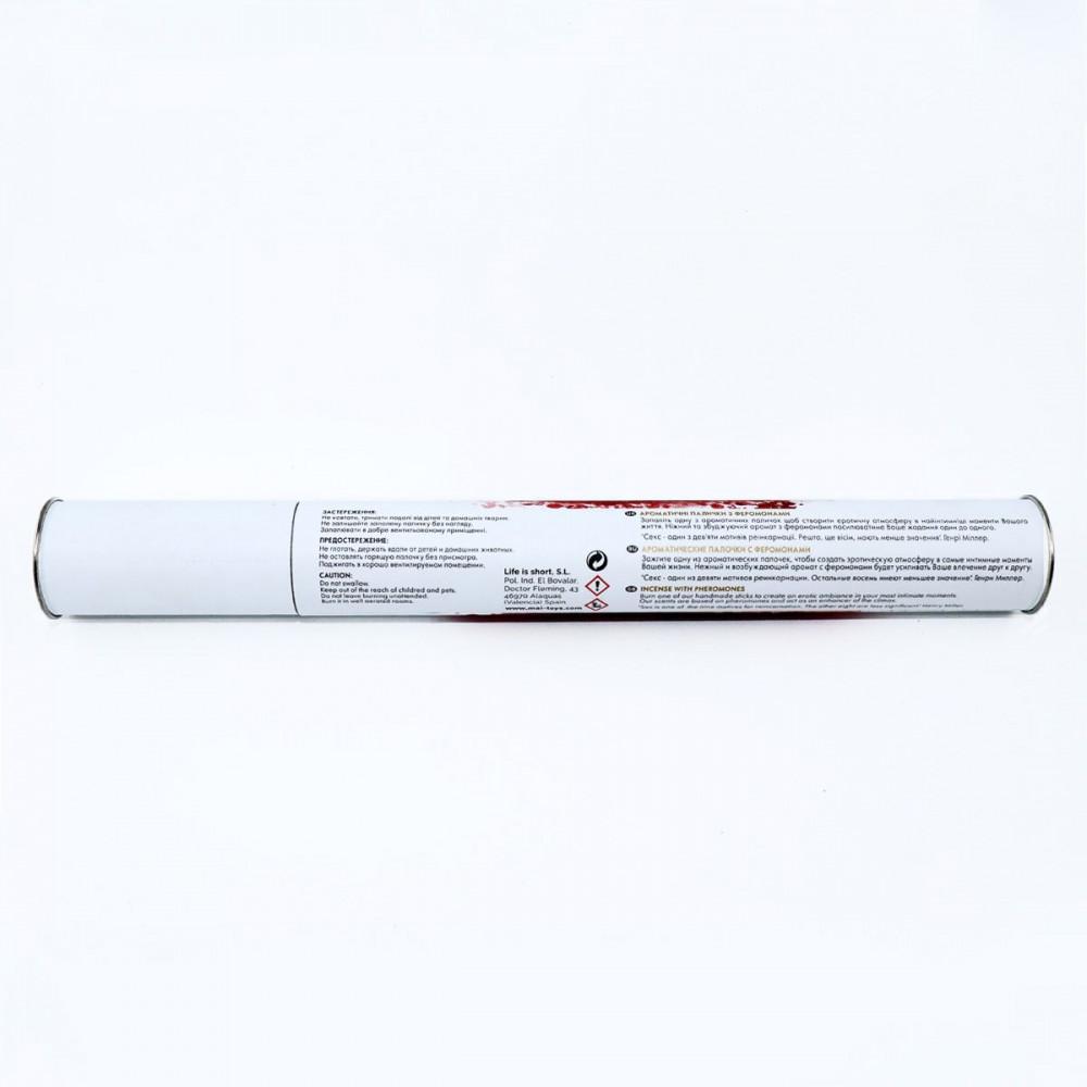 Косметика с феромонами - Ароматические палочки с феромонами MAI Vanilla (20 шт) tube 2