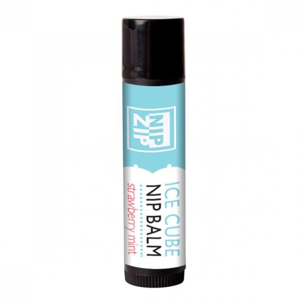 Стимулирующие средства и пролонгаторы - Охлаждающий бальзам для сосков Sensuva - Nip Zip Strawberry Mint (4 г) 1