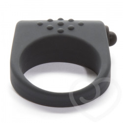 Эрекционное кольцо с вибраией, серое