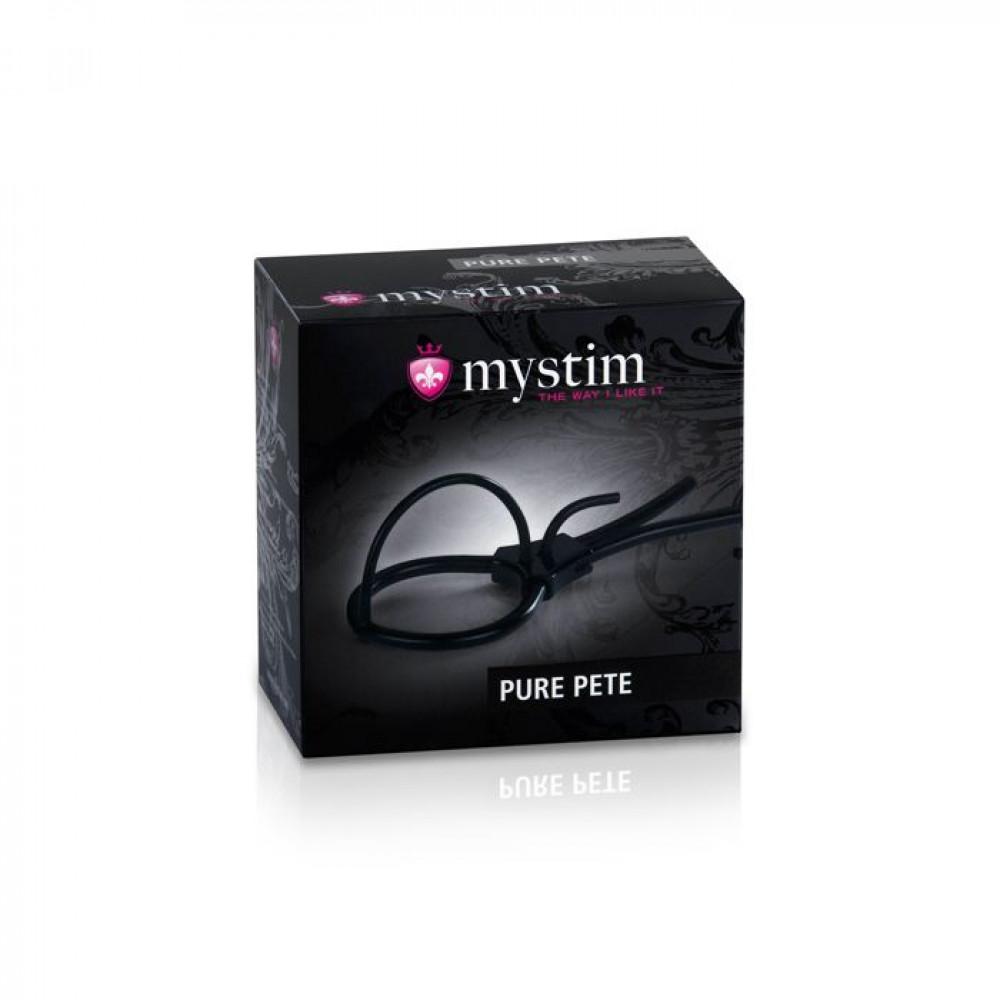 Насадки на член - Утяжка для пениса Mystim Pure Pete 2