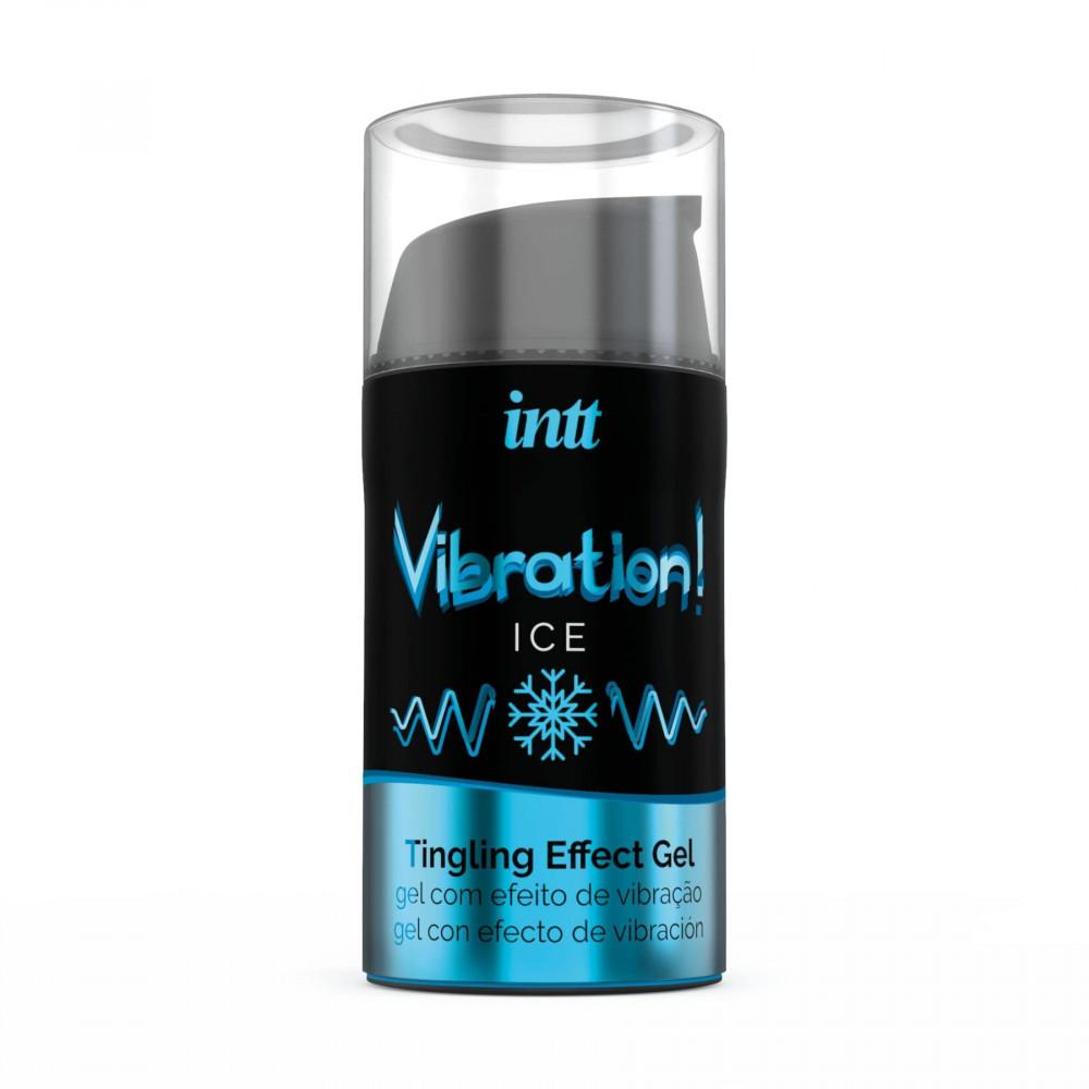 Жидкий вибратор - Жидкий вибратор Intt Vibration Ice  2