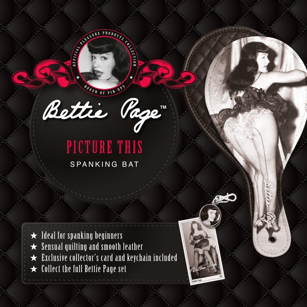 БДСМ плети, шлепалки, метелочки - Шлепалка Bettie Page ИДЕАЛЬНАЯ КАРТИНА 5