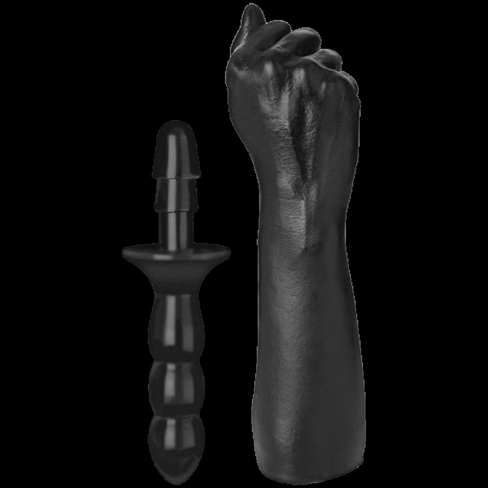 Анальные игрушки - Кулак для фистинга Doc Johnson Titanmen The Fist with Vac-U-Lock Compatible Handle
