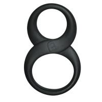 Эрекционное кольцо восьмерка Black