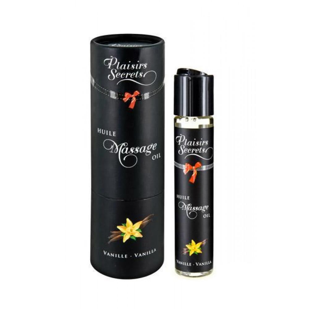Массажные масла - Массажное масло Plaisirs Secrets Vanilla (59 мл)