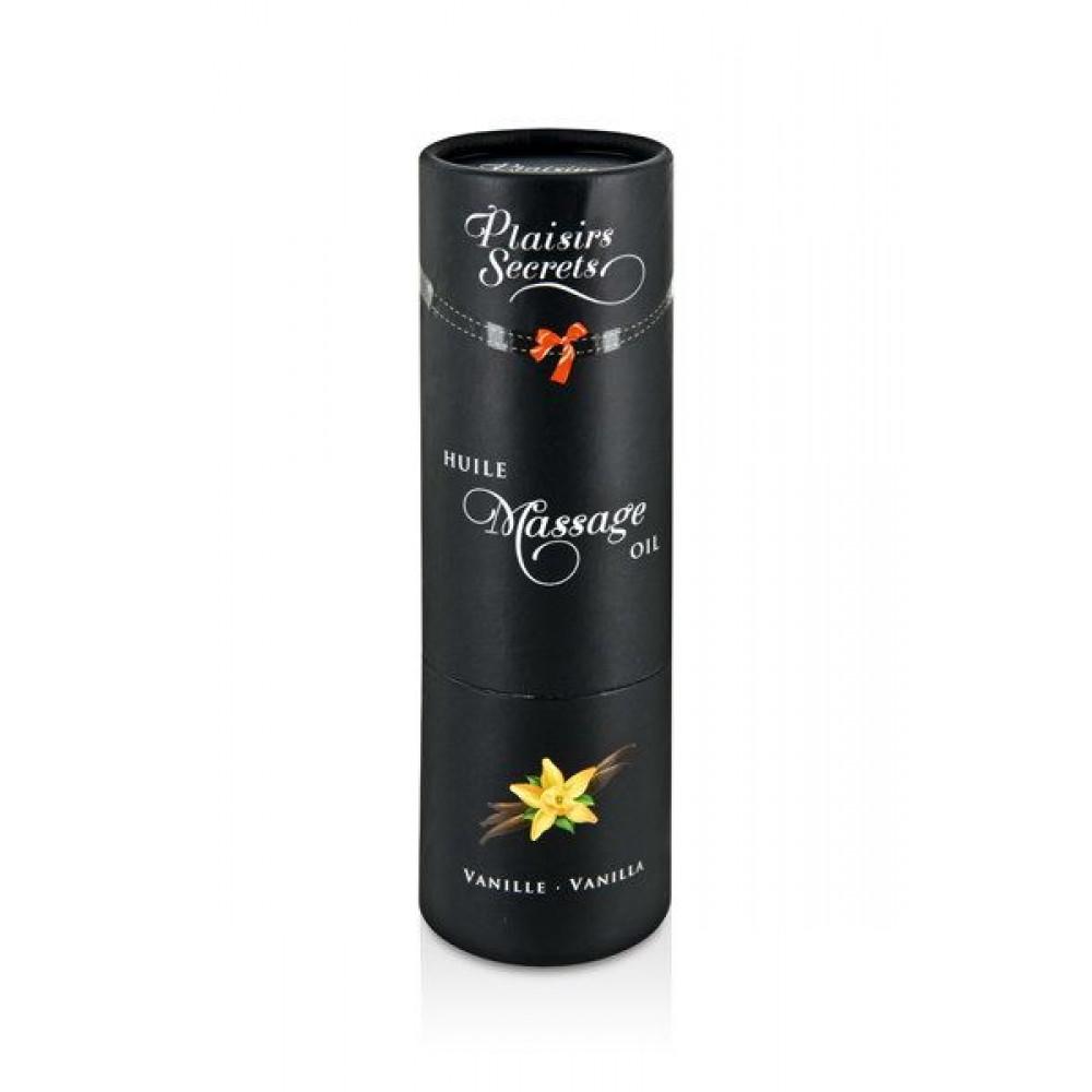 Массажные масла - Массажное масло Plaisirs Secrets Vanilla (59 мл) 2
