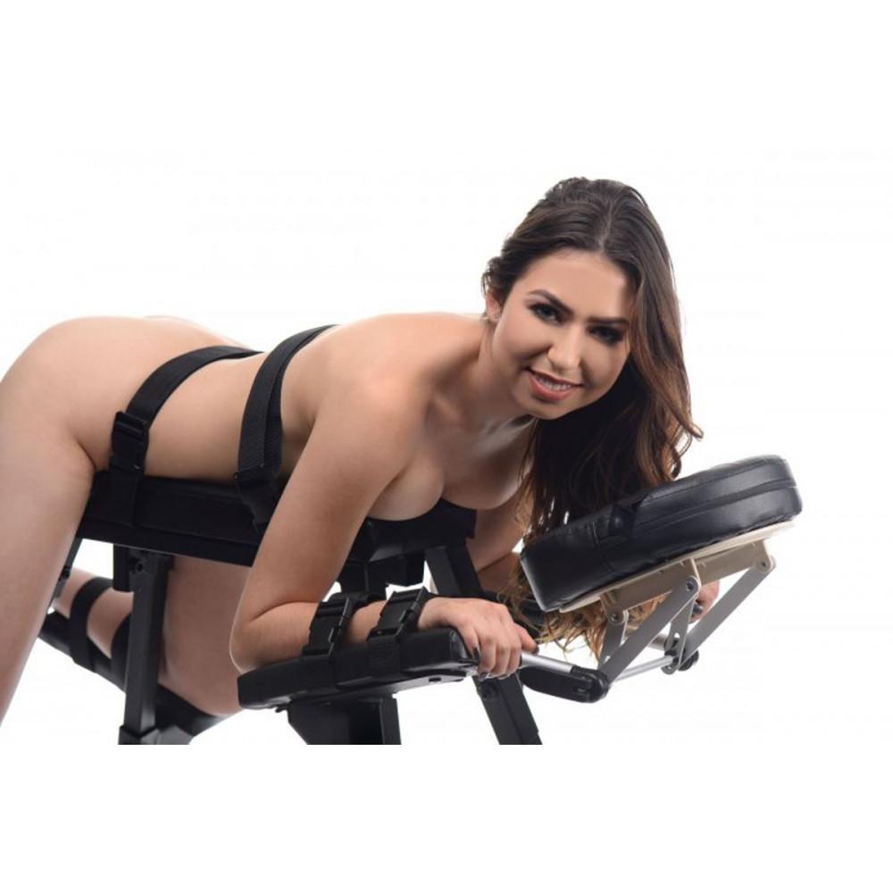 БДСМ аксессуары - Скамья для экстремального секса с фиксаторами Extreme Sex Bench 3