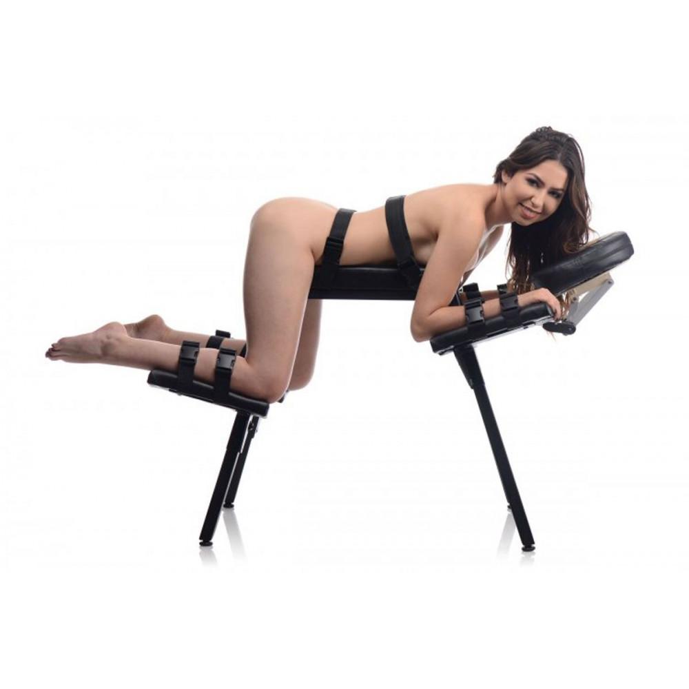 БДСМ аксессуары - Скамья для экстремального секса с фиксаторами Extreme Sex Bench 1