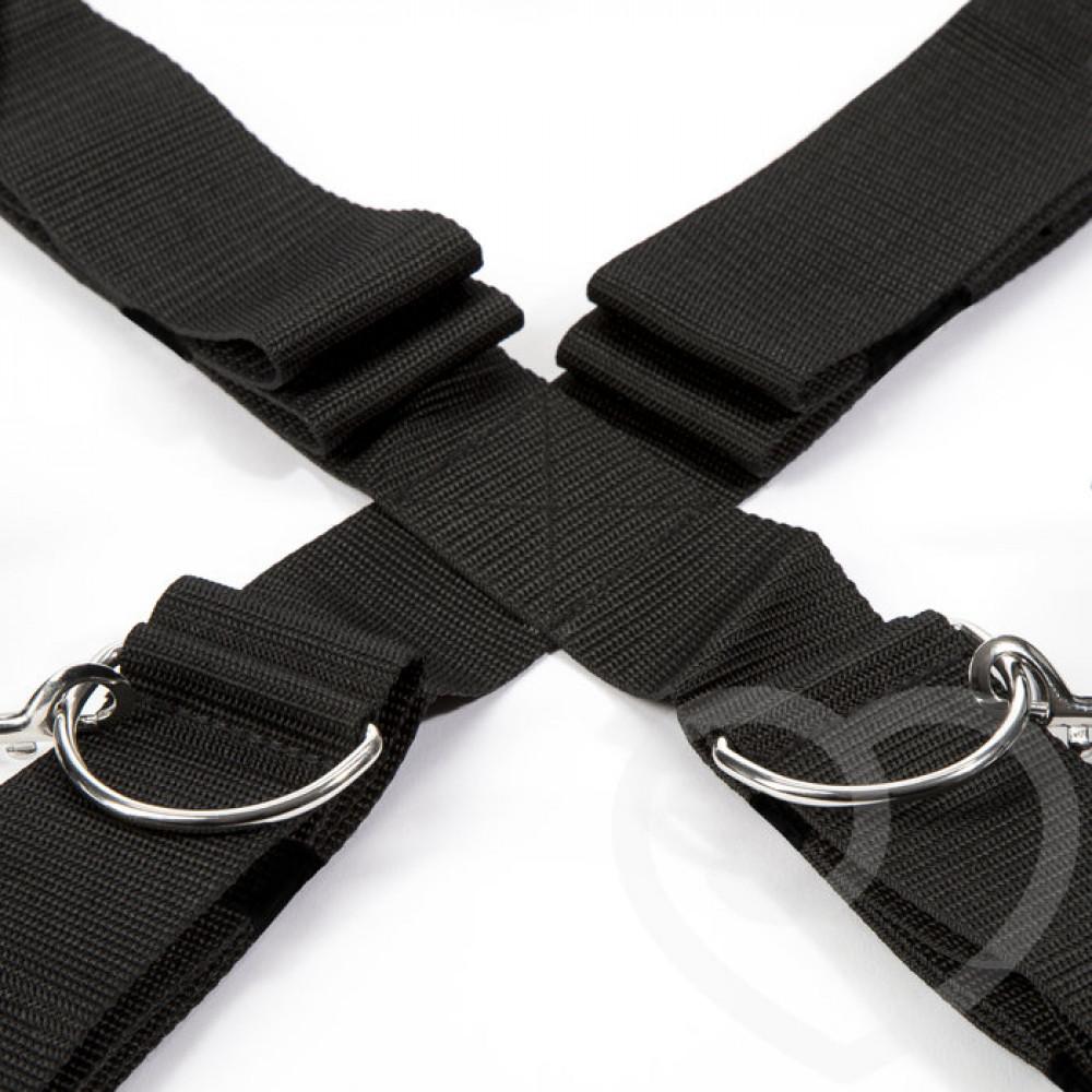 БДСМ наручники - Крестообразная ременная система для фиксации к кровати ЗАМРИ, Fifty Shades of Grey 4