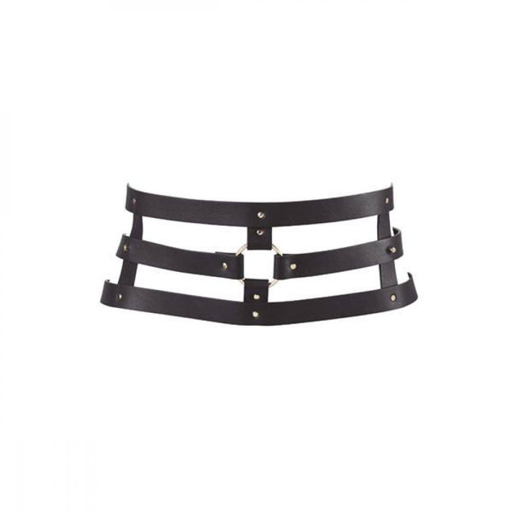 Одежда для БДСМ - Портупея Bijoux Indiscrets MAZE - Wide Belt and Restraints Black