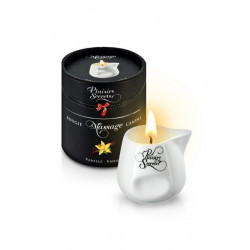 Массажная свеча Plaisirs Secrets Vanilla (80 мл)