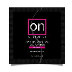 Пробник возбуждающего геля Sensuva - ON for Her Arousal Gel Originall (4 мл)