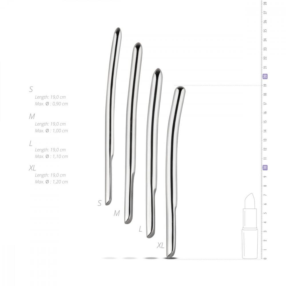 БДСМ аксессуары - Набор уретральных стимуляторов Sinner Gear Unbendable - Single Ended 4 шт, диаметры 9,10,11,12 мм 5