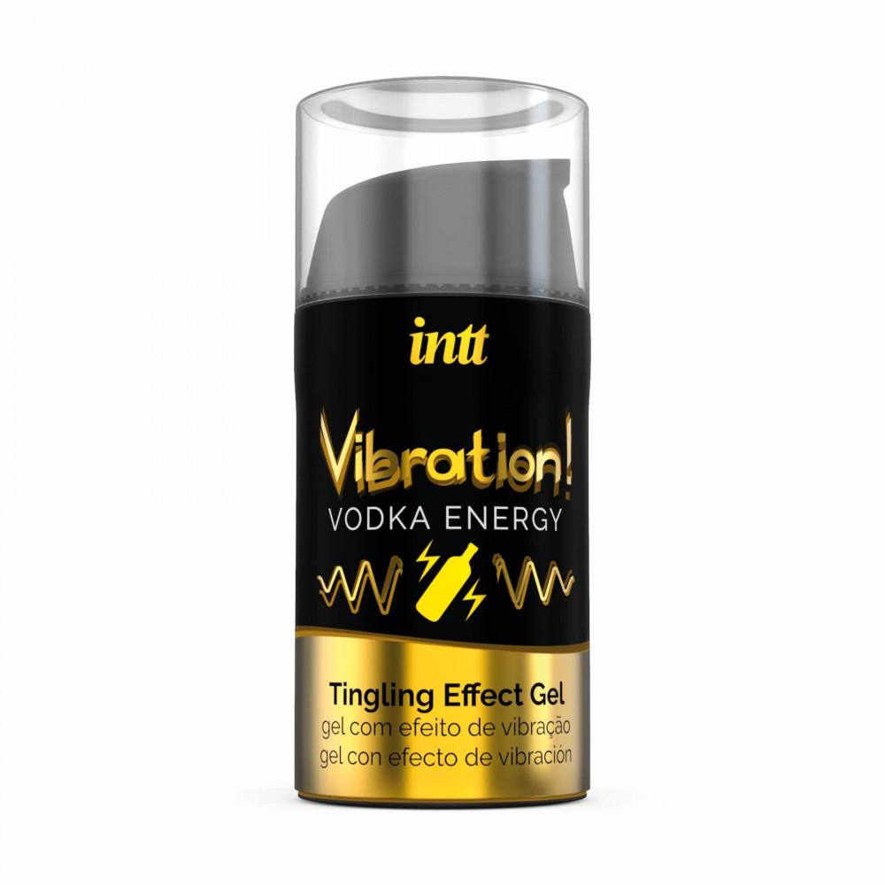 Жидкий вибратор - Жидкий вибратор Intt Vibration Vodka (15 мл) 2