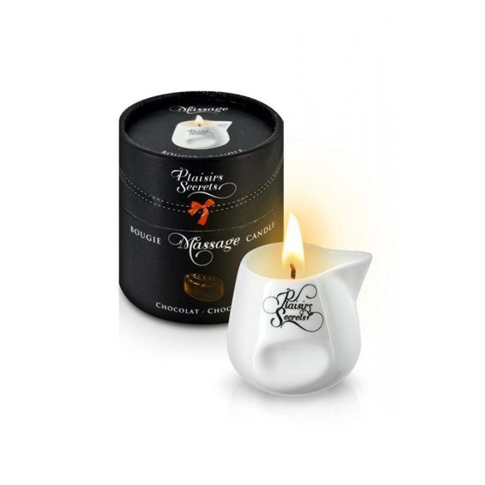 Массажные свечи - Массажная свеча Plaisirs Secrets Chocolate (80 мл)