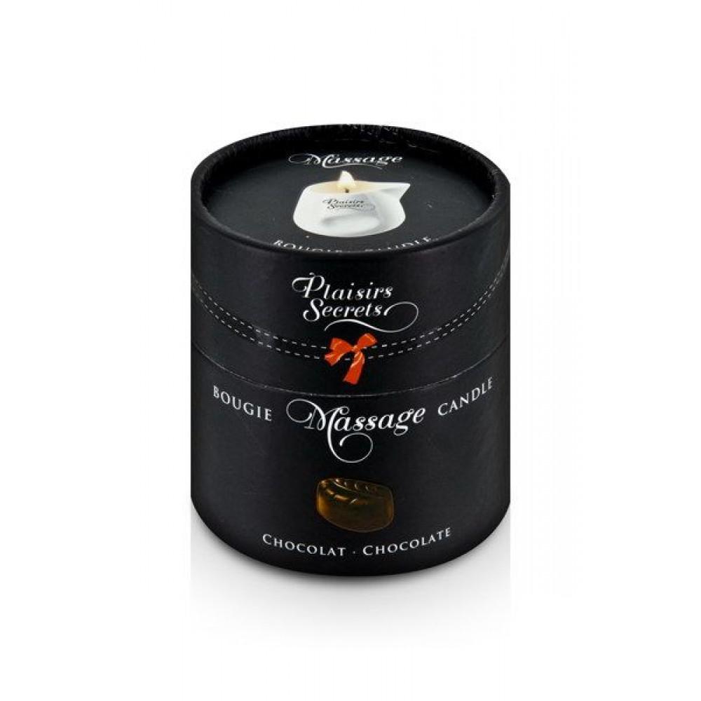 Массажные свечи - Массажная свеча Plaisirs Secrets Chocolate (80 мл) 2