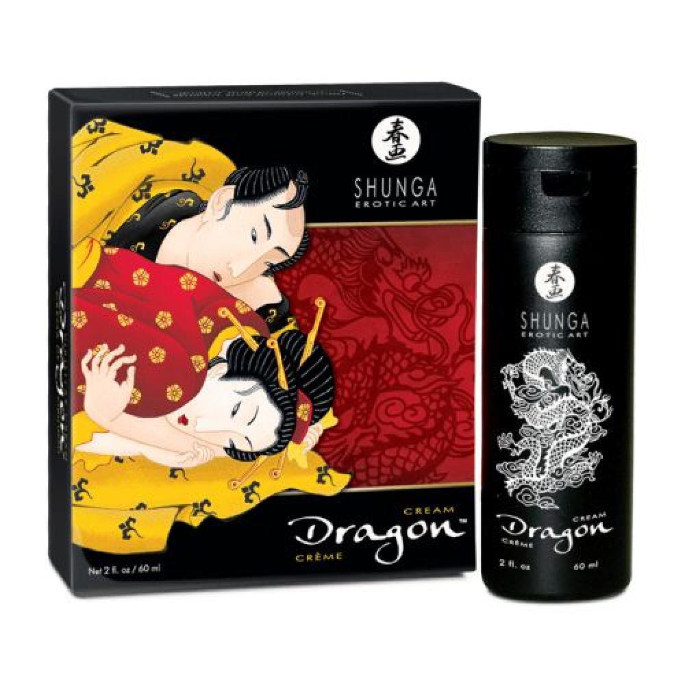 Стимулирующие средства и пролонгаторы - Стимулирующий крем для пар Shunga SHUNGA Dragon Cream (60 мл)