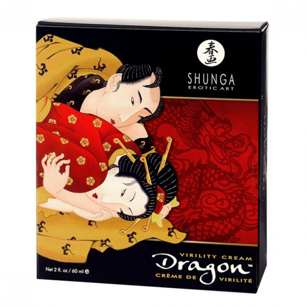 Стимулирующие средства и пролонгаторы - Стимулирующий крем для пар Shunga SHUNGA Dragon Cream (60 мл) 1