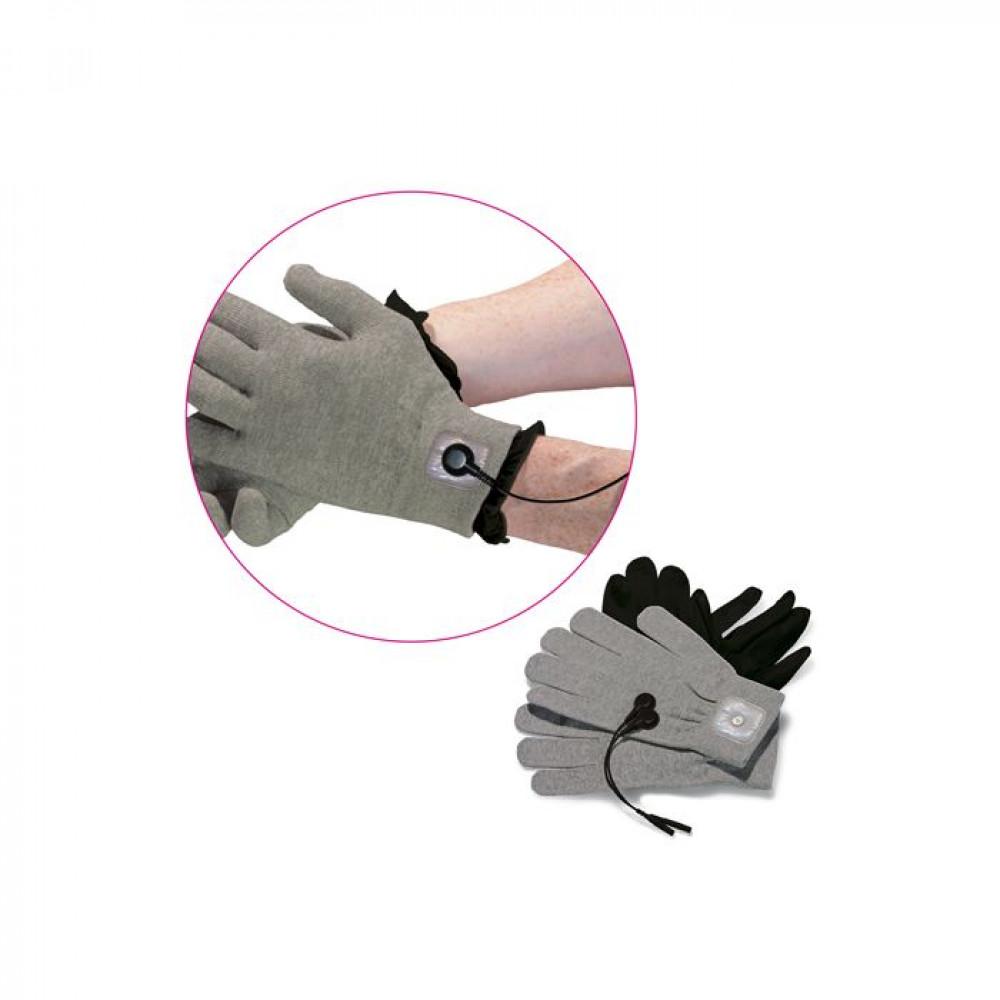 БДСМ электростимуляторы - Перчатки для электростимуляции Mystim Magic Gloves 1