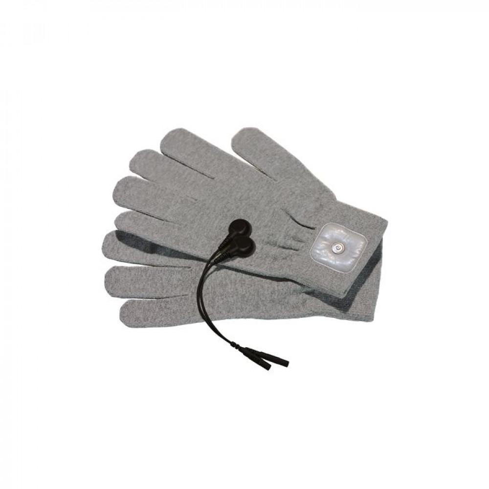 БДСМ электростимуляторы - Перчатки для электростимуляции Mystim Magic Gloves