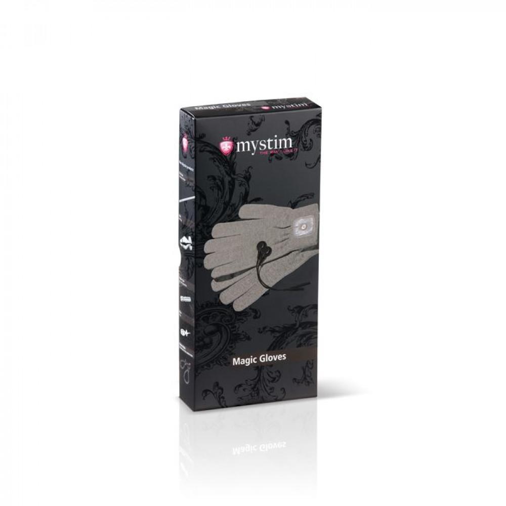 БДСМ электростимуляторы - Перчатки для электростимуляции Mystim Magic Gloves 2