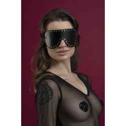 Маска закрытая с заклепками Feral Fillings - Blindfold Mask черная