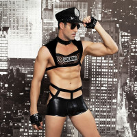 Мужской эротический костюм полицейского
