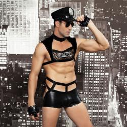 """Мужской эротический костюм полицейского """"Капитан Беспринципность"""""""