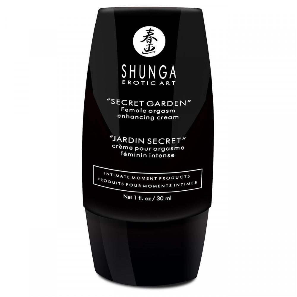 Жидкий вибратор - Стимулирующий гель для клитора Shunga Secret Garden (30 мл) 1
