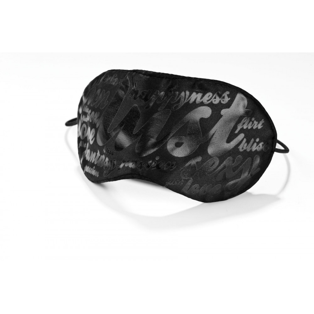 Маска для БДСМ - Маска на глаза Bijoux Indiscrets - Blind Passion Mask 1