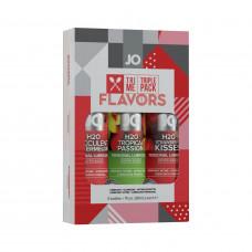 Подарочный набор System JO Limited Edition Tri-Me Triple Pack - Flavors (3 х 30 мл)