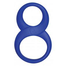 Эрекционное кольцо восьмерка, Blue