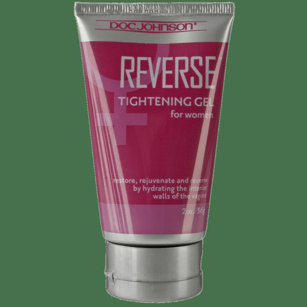 Стимулирующие средства и пролонгаторы - Крем для сужения влагалища Doc Johnson Reverse - Tightening Gel For Women (56 гр)