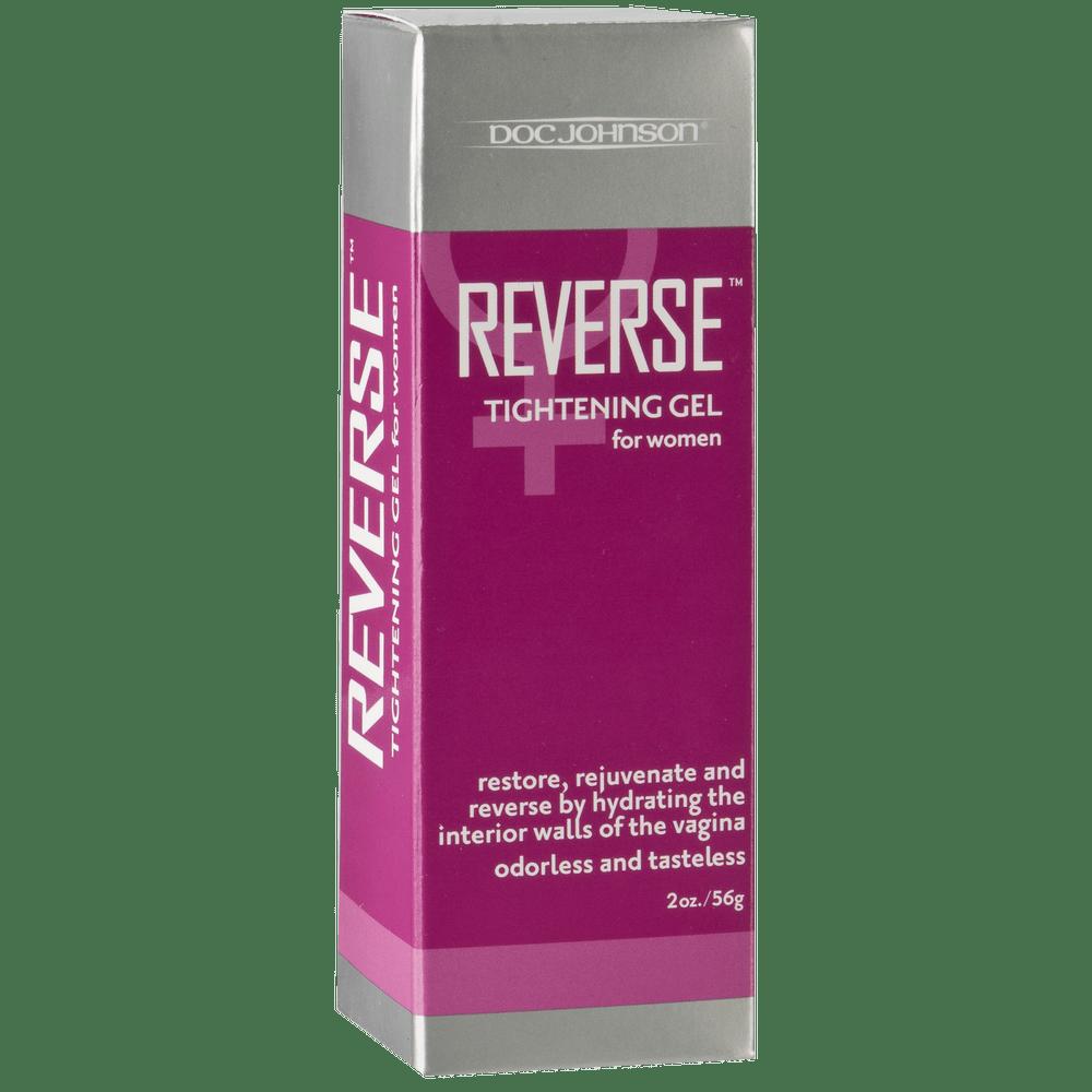Стимулирующие средства и пролонгаторы - Крем для сужения влагалища Doc Johnson Reverse - Tightening Gel For Women (56 гр) 1