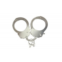 Наручники металлические Adrien Lastic Handcuffs Metallic