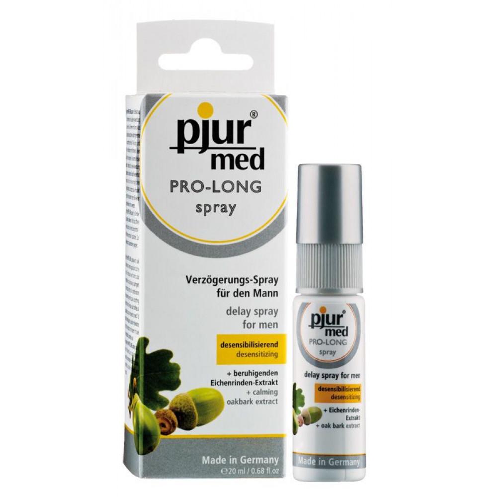 Стимулирующие средства и пролонгаторы - Пролонгирующий спрей для мужчин pjur MED Pro-long Spray 20 мл