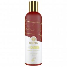 Массажное масло DONA Recharge - Lemongrass & Ginger Essential Massage Oil (120 мл)