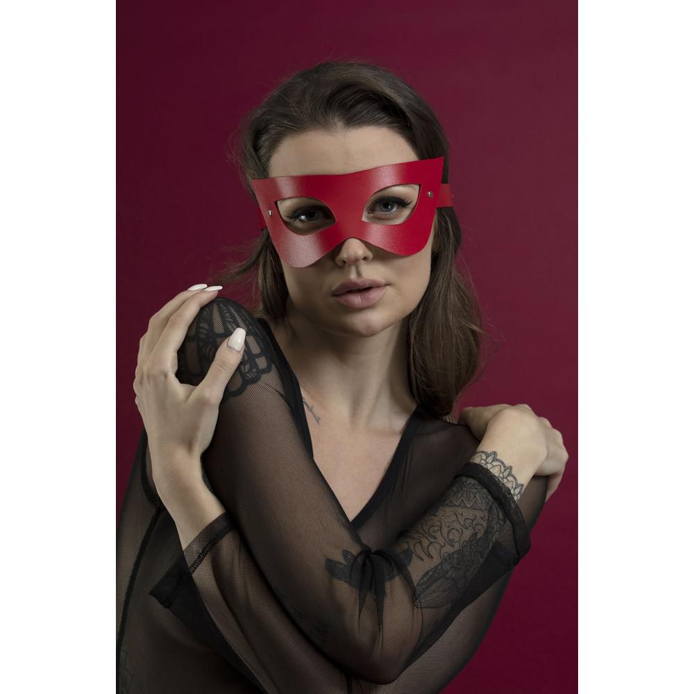 Маска для БДСМ - Маска Feral Fillings - Mistery Mask красная