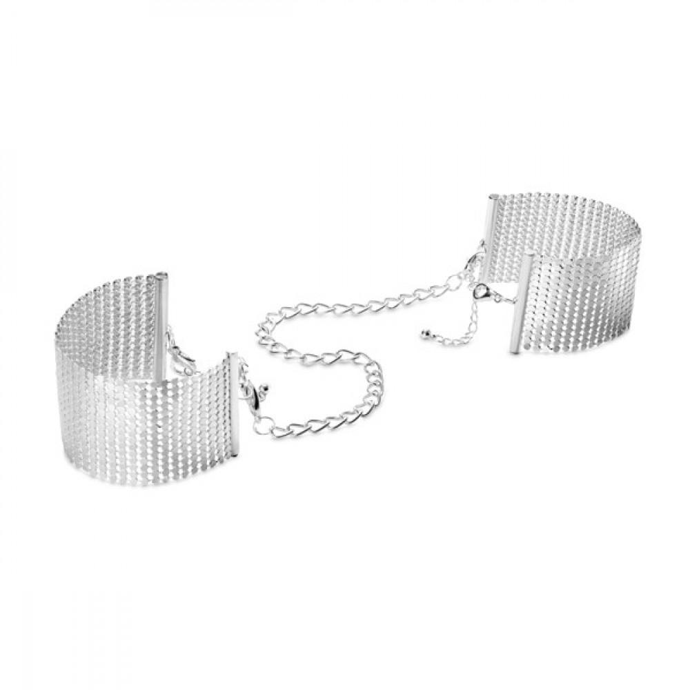 БДСМ наручники - Браслеты - наручники DESIR METALLIQUE - серебристые 4