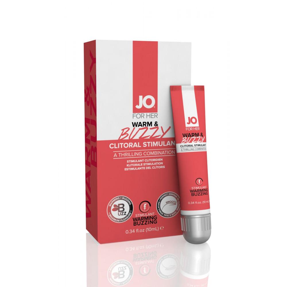 Жидкий вибратор - Возбуждающий гель для клитора System JO WARM & BUZZY - ORIGINAL (10 мл) 1