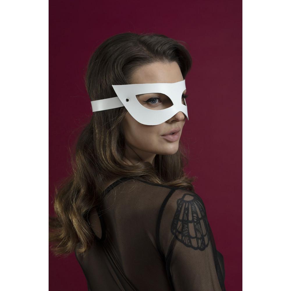 Маска для БДСМ - Маска Feral Fillings - Mistery Mask белая 1
