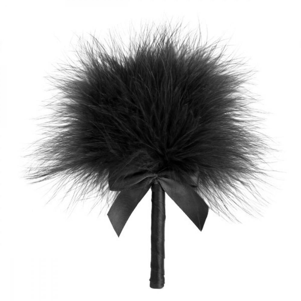 БДСМ плети, шлепалки, метелочки - Перьевая метёлочка Tickle Me Tickler Bijoux Indiscrets