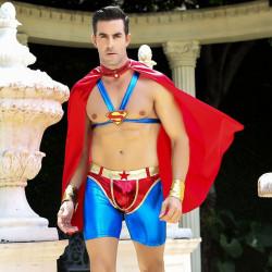 """Мужской эротический костюм супермена """"Готовый на всё Стив"""""""