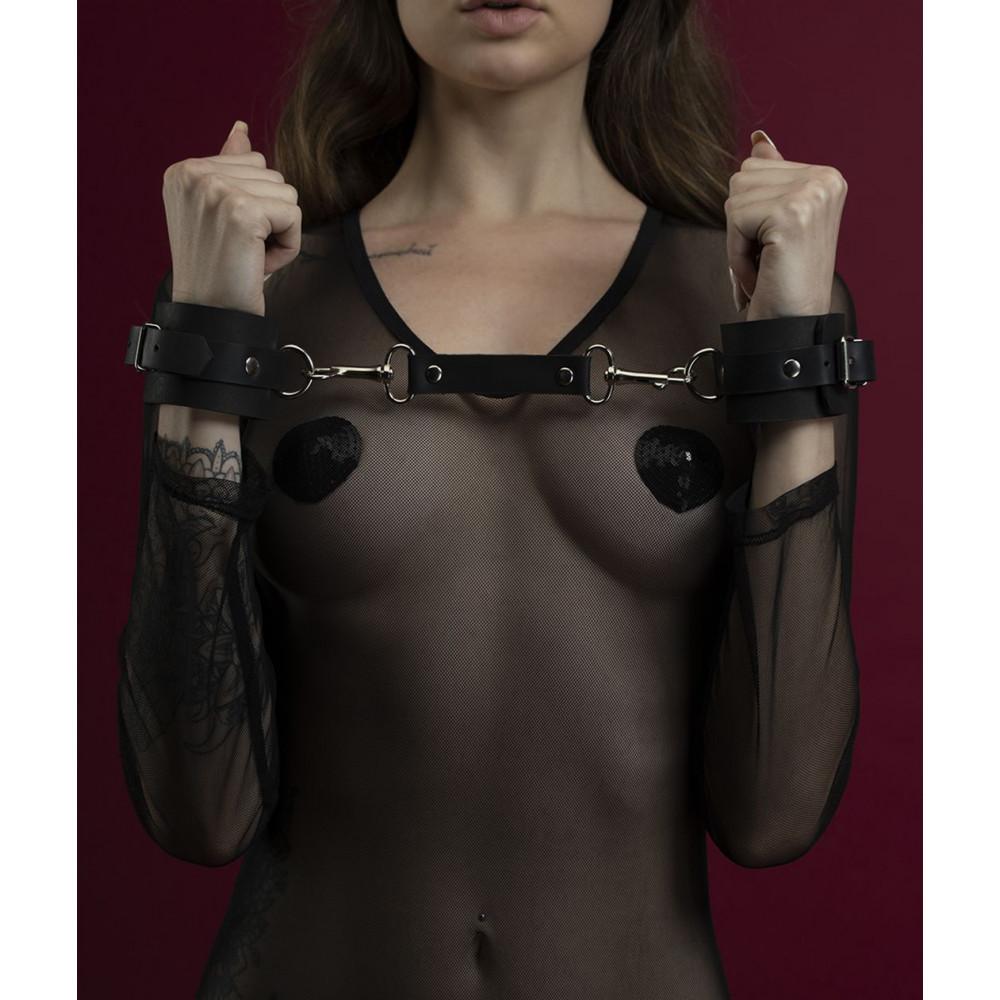 БДСМ наручники - Наручники Feral Fillings - Hand Restraints черные 1